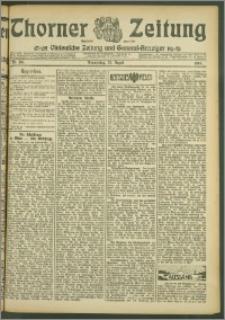 Thorner Zeitung 1907, Nr. 196