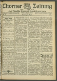 Thorner Zeitung 1907, Nr. 202