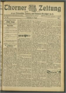 Thorner Zeitung 1907, Nr. 204