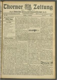 Thorner Zeitung 1907, Nr. 205 Erstes Blatt