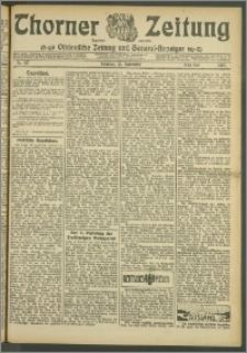 Thorner Zeitung 1907, Nr. 217 Erstes Blatt