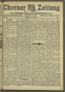 Thorner Zeitung 1907, Nr. 262
