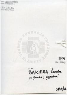 Bakiera Wanda