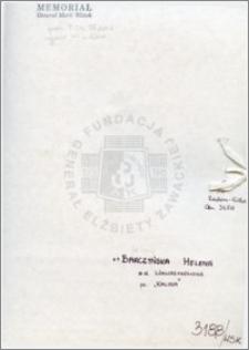 Barczyńska Helena
