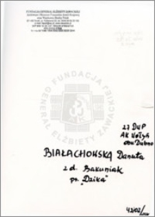 Białachowska Danuta