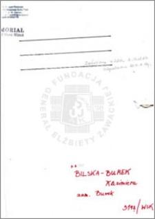 Bilska-Burek Kazimiera