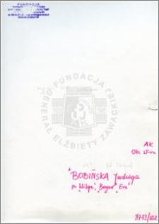 Bobińska Jadwiga