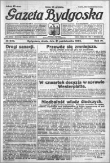 Gazeta Bydgoska 1925.10.21 R.4 nr 243