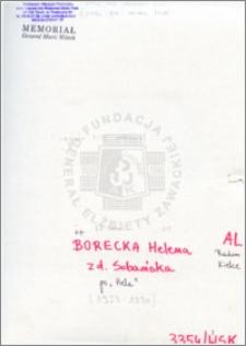 Borecka Helena