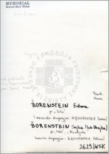 Borenstein Sajka