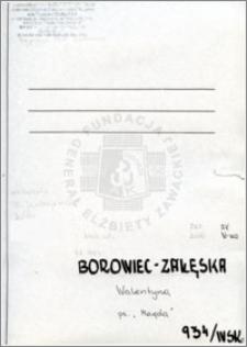 Borowiec-Zalewska Walentyna