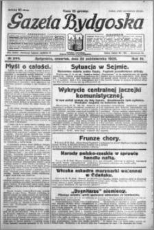 Gazeta Bydgoska 1925.10.22 R.4 nr 244