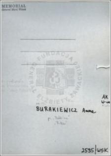Burakiewicz Anna