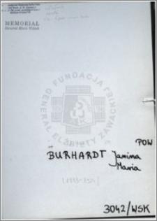 Burhardt Janina Maria