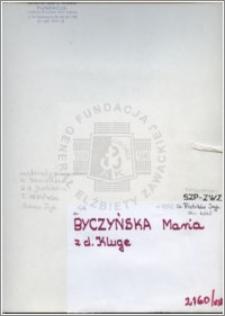 Buczyńska Maria