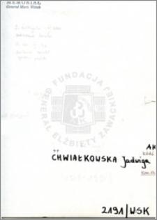 Chwiałkowska Jadwiga