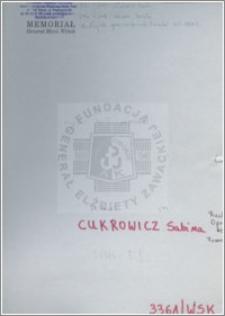 Cukrowicz Sabina