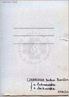 Czarnowska Barbara Bronisława