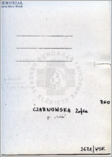 Czarnowska Zofia