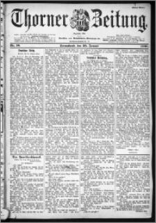 Thorner Zeitung 1900, Nr. 16 Erstes Blatt