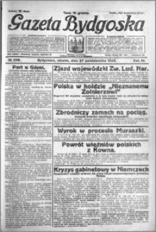 Gazeta Bydgoska 1925.10.27 R.4 nr 248