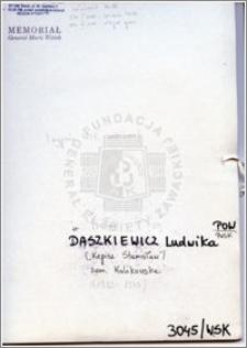 Daszkiewicz Ludwika