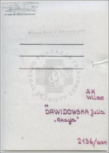 Dawidowska Julia
