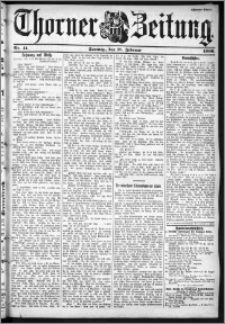 Thorner Zeitung 1900, Nr. 41 Zweites Blatt