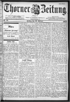 Thorner Zeitung 1900, Nr. 45 Erstes Blatt