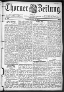 Thorner Zeitung 1900, Nr. 80 Erstes Blatt