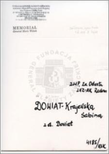 Dowiat-Krajewska Sabina