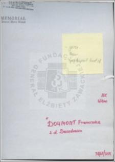 Dowmont Franciszka