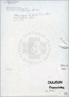 Dulibon Franciszka