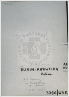 Dunin-Karwicka Halina