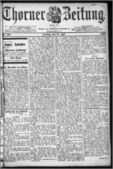Thorner Zeitung 1900, Nr. 167 Erstes Blatt