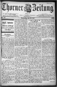 Thorner Zeitung 1900, Nr. 172 Erstes Blatt