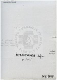 Dybczyńska Zofia