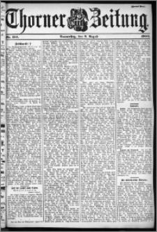 Thorner Zeitung 1900, Nr. 184 Zweites Blatt