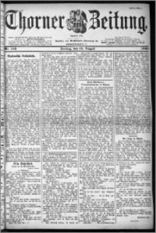Thorner Zeitung 1900, Nr. 185 Erstes Blatt