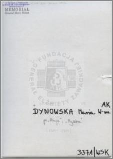 Dynowska Maria