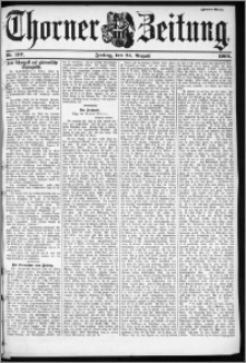 Thorner Zeitung 1900, Nr. 197 Zweites Blatt