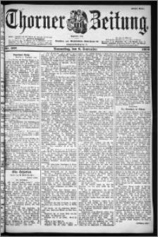 Thorner Zeitung 1900, Nr. 208 Erstes Blatt
