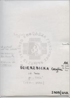 Dzierzbicka Cecylia