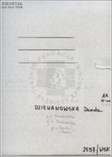 Dziewanowska Danuta