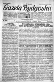 Gazeta Bydgoska 1925.11.19 R.4 nr 268
