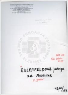 Eulenfeldowa Jadwiga