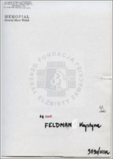 Feldman Krystyna