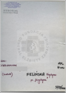 Felińska Krystyna