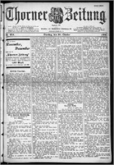 Thorner Zeitung 1900, Nr. 254 Erstes Blatt