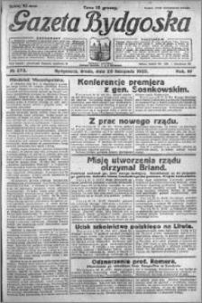 Gazeta Bydgoska 1925.11.25 R.4 nr 273